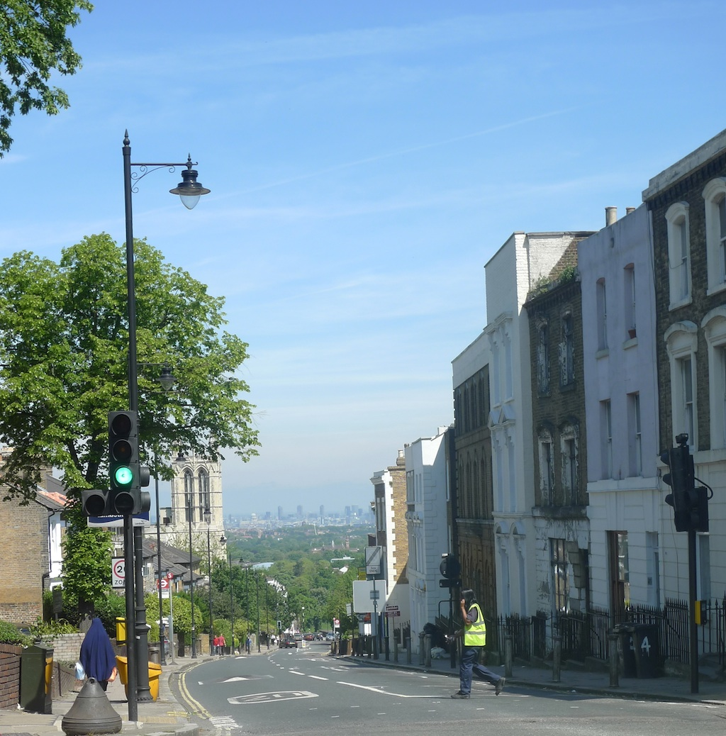 View from Gipsy Hill . Photo: BTR