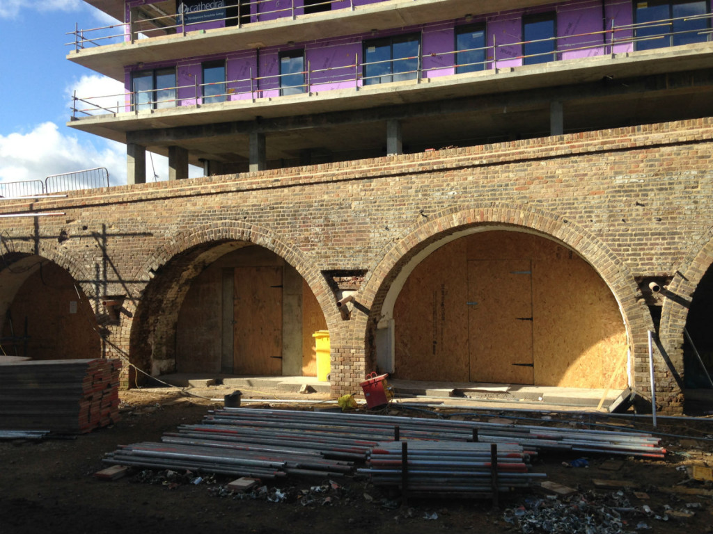The arches: