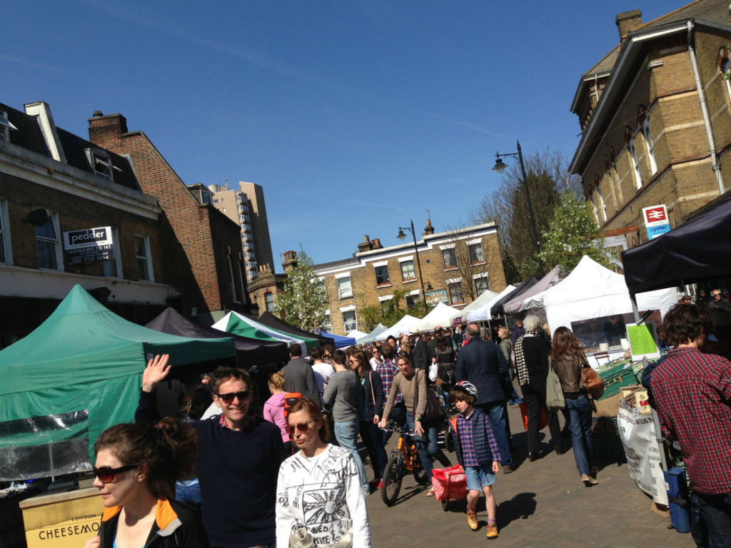 Herne Hill in the sunshine. Really, is there anywhere better?