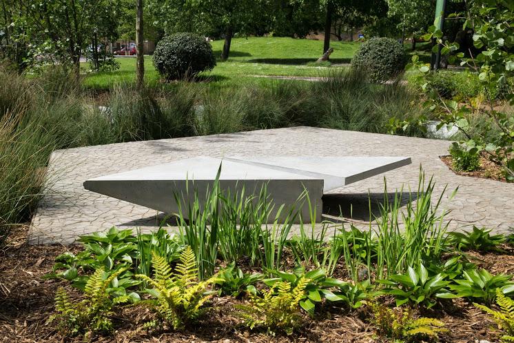 Opening tomorrow: the Hugo Bugg garden. Photo: PR