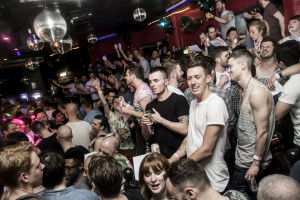 As it is now: boys partying inside. Photo: RVT