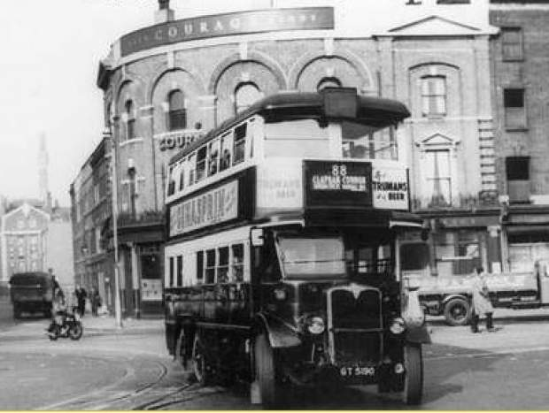 How the RVT looked in 1950. Photo: RVT