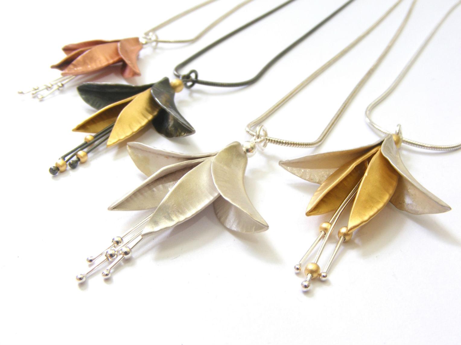 Fuchsia pendants