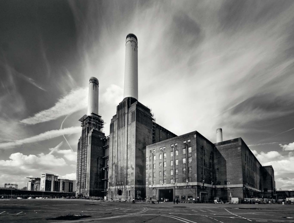 Temple of power.  All photos from the book Battersea Power Station, by Graham & Graham