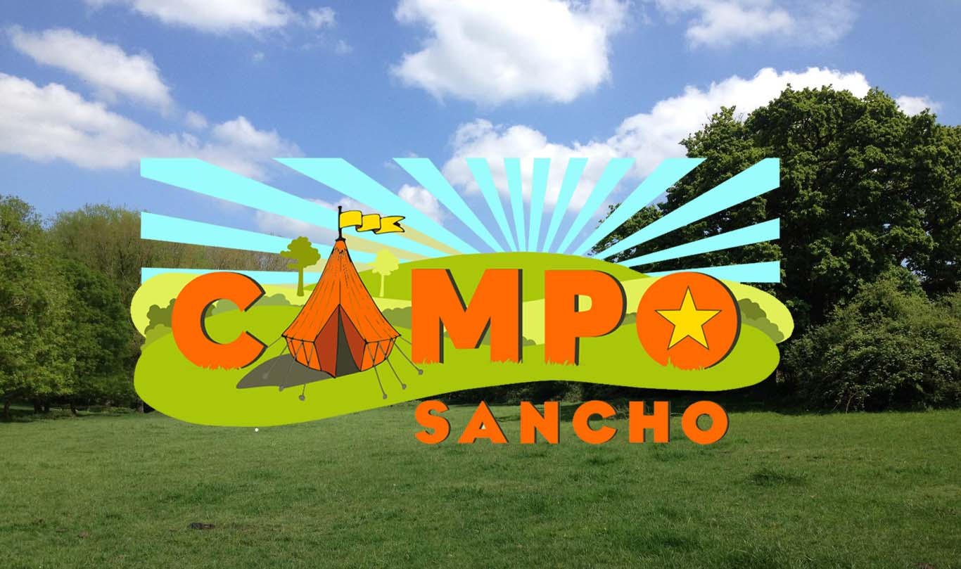 Site of the main 'carnival stage' at Campo Sancho. Photo: Matt Brown