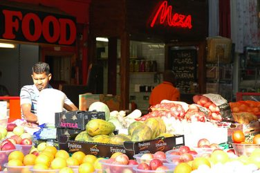 Fruit and veg at Tooting Market