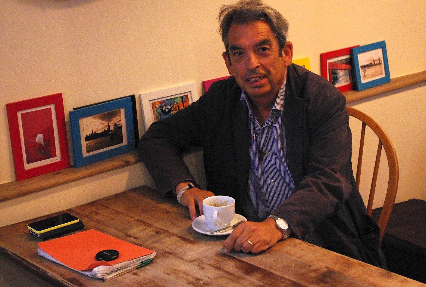 Battersea-based Jimmy Burns is president of the British Spanish society. Photo: Stephanie Kennedy