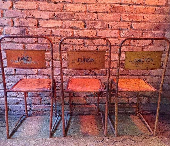 Chair detail at FFC. Photo: Twitter