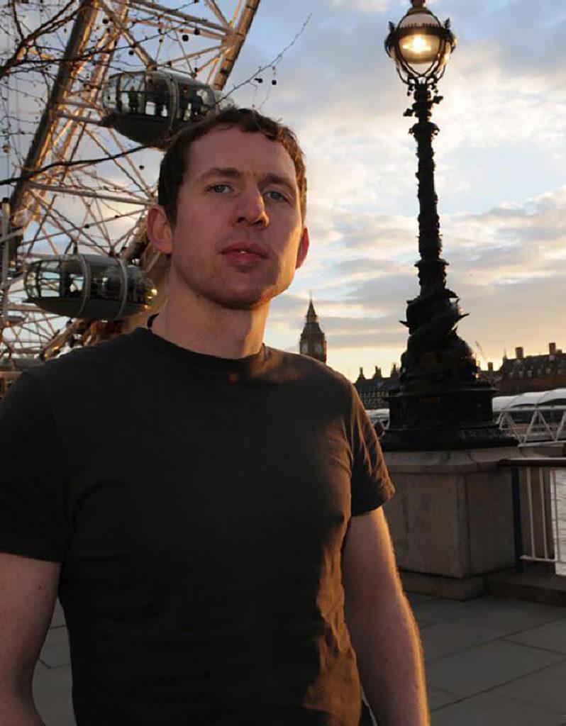 Chris McCabe. Photo: author's own