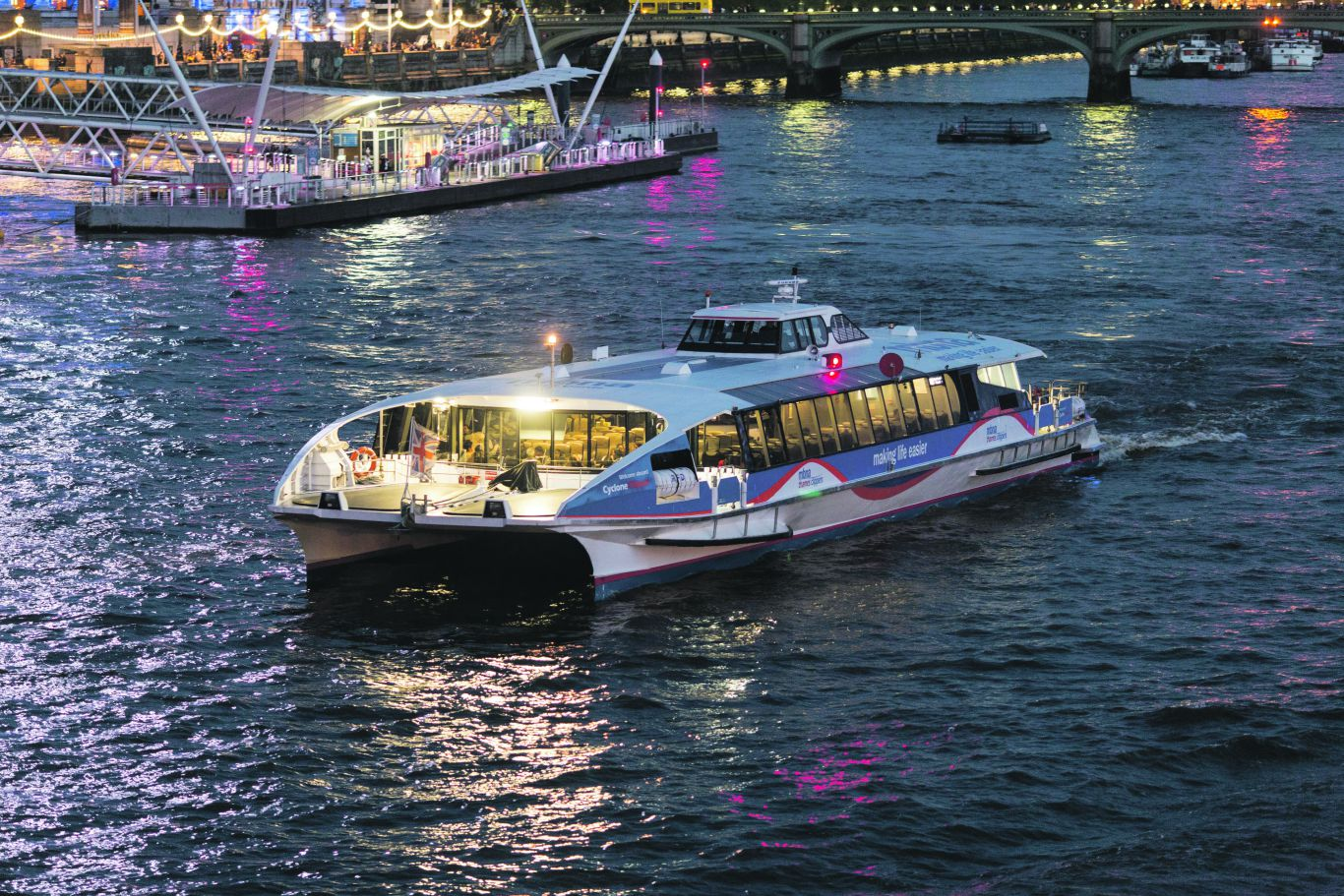 'The Thames is a bustling place.' Photo: PR