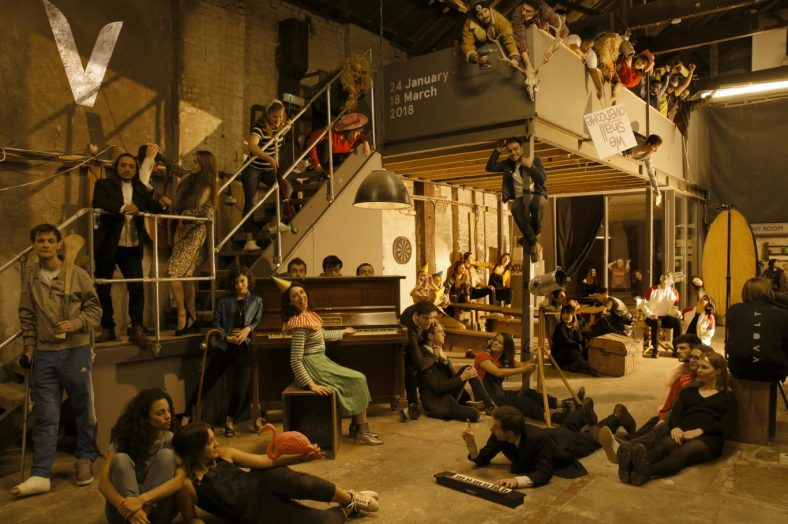 Vault Festival performers spread throughout venue