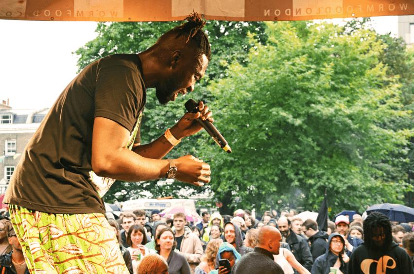 Performer at Camberwell Fair