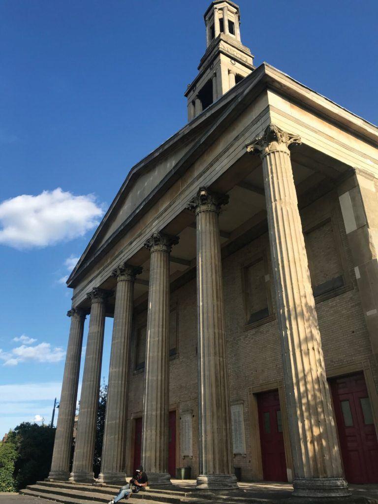 St Lukes front