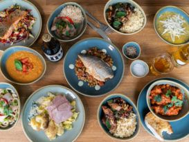 Stir: an array of plates